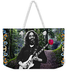 Jerry Road Rose 1 Weekender Tote Bag