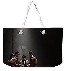 Jersey Boys By Clint Eastwood Weekender Tote Bag by Movie Poster Prints