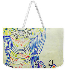 Jesus Guardian Angel Weekender Tote Bag