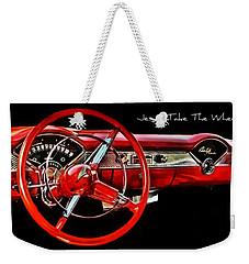 Jesus Take The Wheel Weekender Tote Bag