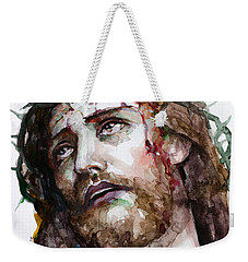 The Suffering God Weekender Tote Bag by Laur Iduc