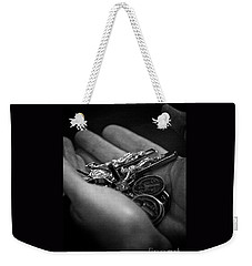 Jesus With Us Weekender Tote Bag