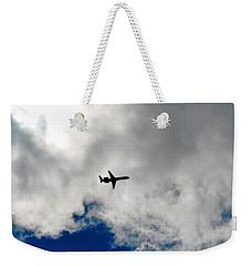 Jet Airplane Weekender Tote Bag