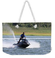 Jet Skier Weekender Tote Bag by John Telfer