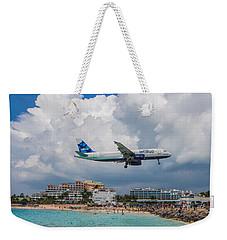 jetBlue in St. Maarten Weekender Tote Bag