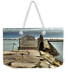 Jetty Bridge Weekender Tote Bag