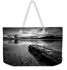Jetty To Castle Stalker Weekender Tote Bag by Dave Bowman