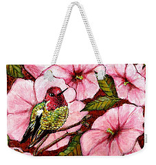 Jewel Among Blooms Weekender Tote Bag