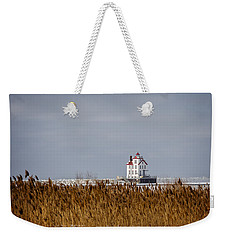 jewel of the Port Lorain Lighthouse Weekender Tote Bag