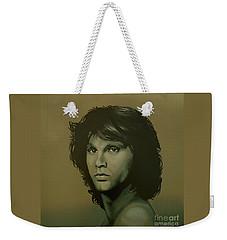 Jim Morrison Painting Weekender Tote Bag