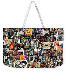 Jimi Hendrix Collage Weekender Tote Bag