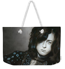 ' Jimmy Page ' Weekender Tote Bag by Christian Chapman Art