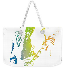Jimmy Page Weekender Tote Bag by Dan Sproul