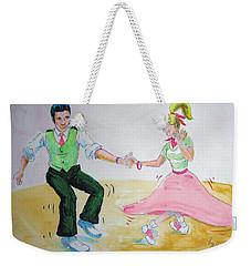 Jive Dancing Cartoon Weekender Tote Bag