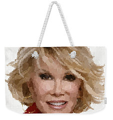 Joan Rivers Portrait Weekender Tote Bag