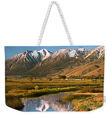 Job's Peak Reflections Weekender Tote Bag