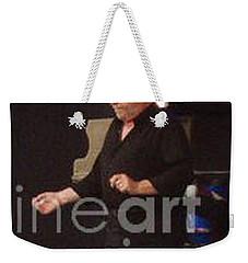 Joe Cocker Weekender Tote Bag by John Telfer