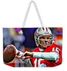 Joe Montana Weekender Tote Bag