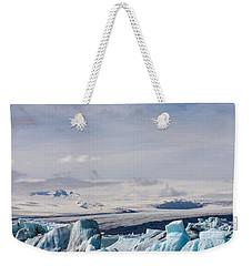 Joekulsarlon Glacial Lagoon Weekender Tote Bag