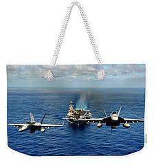 John C. Stennis Carrier Strike Group Weekender Tote Bag