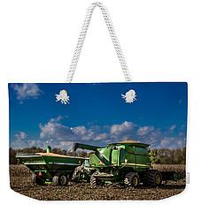 John Deere Combine 9770 Weekender Tote Bag