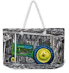 John Deere Green Weekender Tote Bag by Craig T Burgwardt