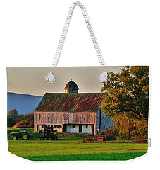 John Deere Green Weekender Tote Bag by Robert Geary