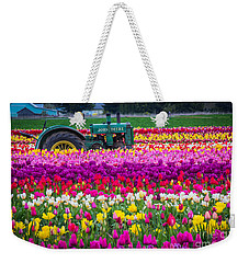 John Deere In Spring Weekender Tote Bag