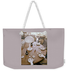 John Dickinson's Dining Table Weekender Tote Bag