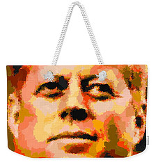 John Fitzgerald Kennedy - Abstract Weekender Tote Bag