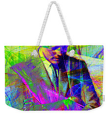 John Fitzgerald Kennedy Jfk In Abstract 20130610v2 Weekender Tote Bag