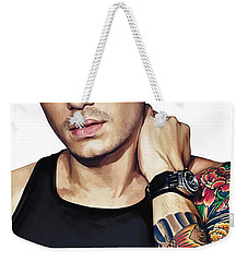 John Mayer Artwork  Weekender Tote Bag