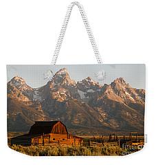 John Moulton Barn Weekender Tote Bag by Clarence Holmes