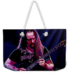 John Petrucci Painting Weekender Tote Bag by Paul Meijering
