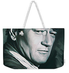 John Wayne Artwork Weekender Tote Bag