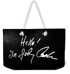 Johnny Cash Museum Weekender Tote Bag by Dan Sproul