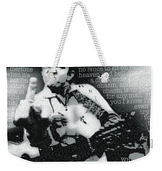 Johnny Cash Rebel Weekender Tote Bag