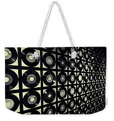 Johnny Cash Vinyl Records Weekender Tote Bag