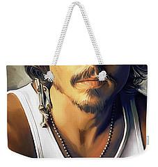 Johnny Depp Artwork Weekender Tote Bag
