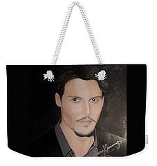 Johnny Depp - The Actor Weekender Tote Bag