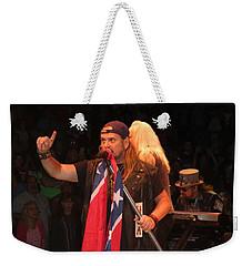 Johnny Van Zant Of Lynyrd Skynyrd Weekender Tote Bag