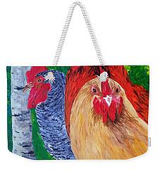 John's Chickens Weekender Tote Bag