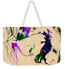 Joker Collection Weekender Tote Bag by Marvin Blaine
