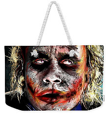 Joker Painting Weekender Tote Bag by Daniel Janda