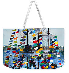 Jose Gasparilla Ship Work B Weekender Tote Bag