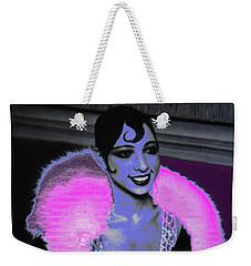 Josephine Baker The Original Flapper Weekender Tote Bag by Saundra Myles