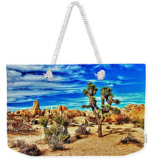 Weekender Tote Bag featuring the photograph Joshua Tree by Benjamin Yeager