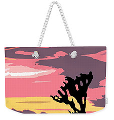 Joshua Tree National Park Vintage Poster Weekender Tote Bag