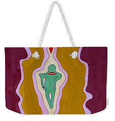 Journey Between Suns Original Painting Weekender Tote Bag