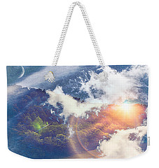 Journey To Another Dimension Weekender Tote Bag
